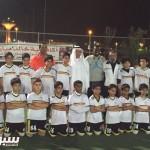 الخيبري نجم الشباب في زيارة لأكاديمية مبارك